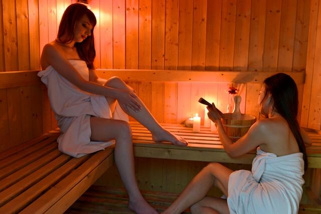 Sauna de notre spa Siamspa