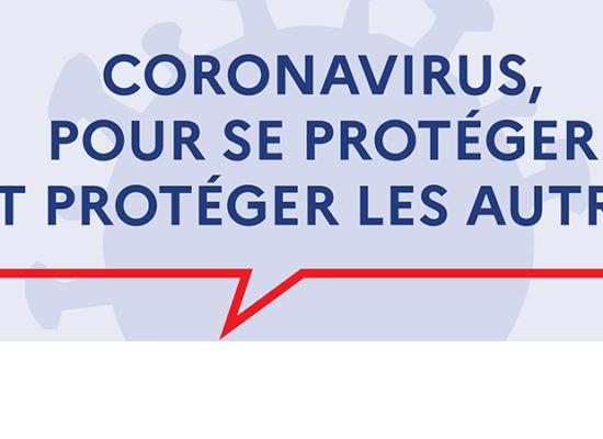 Coronavirus, se protéger, protéger les autres
